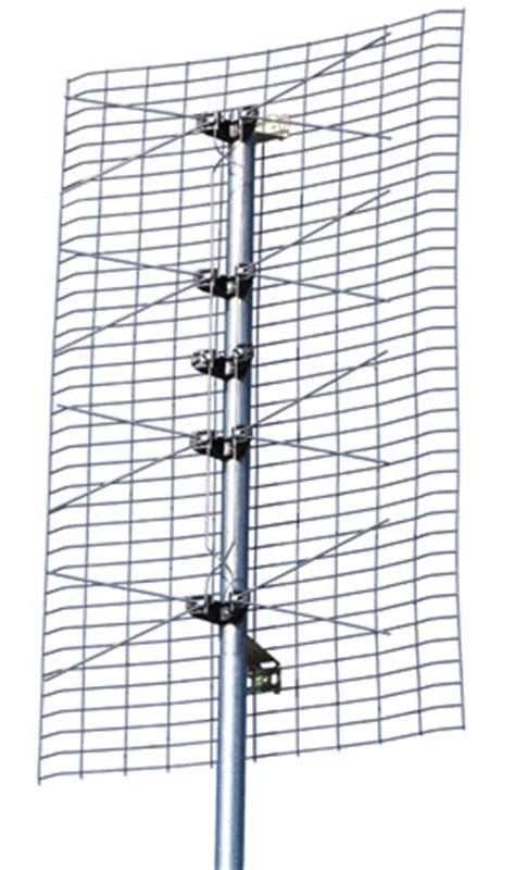 channel master cm4221 4 bay bowtie uhf tv antenna cm 4221 from solid signal