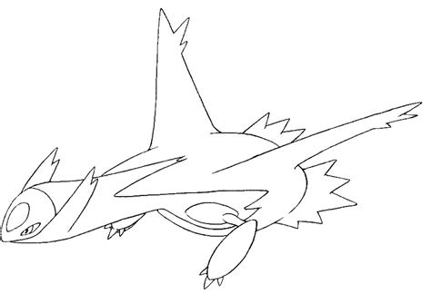 pokemon coloring pages latios and latios coloring pages