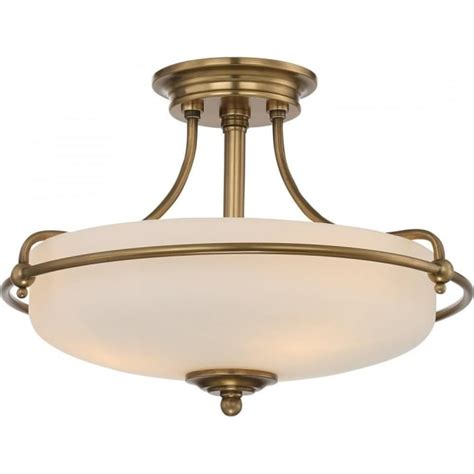 Deco Ceiling Lights Uk by Deco Seni Flush Ceiling Light Weathered Bronze With