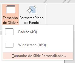 tamanho layout power point alterar o layout da p 225 gina powerpoint