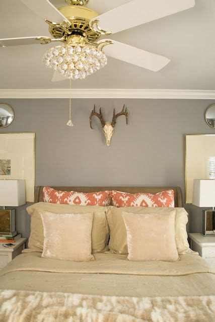 bedroom chandeliers with fans great compromise for a ceiling fan dilemma our bedroom