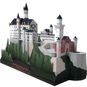 Canon Creative Park Papercraft - neuschwanstein castle germany europe architecture