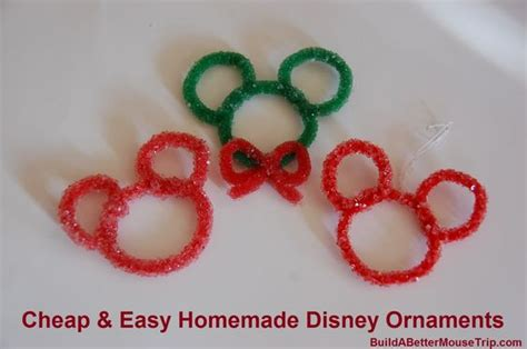 easy disney crafts for disney ornaments disney and