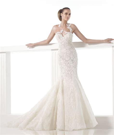 imagenes de vestidos de novia sexis los vestidos de novia sexis y elegantes de pronovias