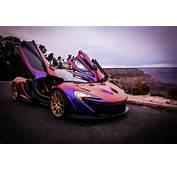 Angels' Pitcher CJ Wilson Takes His Purple McLaren P1 To The