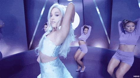 Monochromatic Color Scheme by 9 Hottest Ariana Grande Gifs From The Quot Focus Quot Music Video