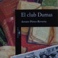 el club dumas b00i95hljq el club dumas de arturo p 233 rez reverte comprar libros de terror misterio y polic 237 aco en
