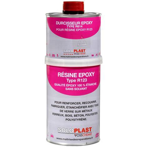 Resine Epoxy Baignoire by R 233 Sine Epoxy Soloplast 1kg Leroy Merlin