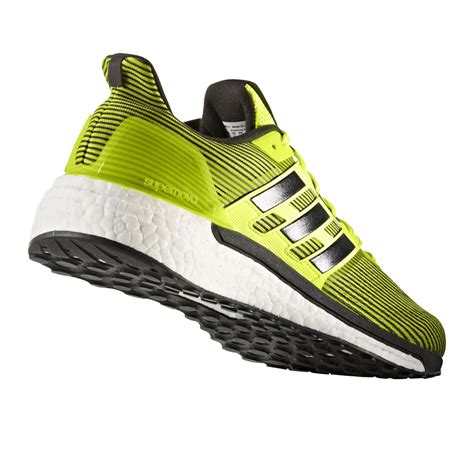 adidas supernova mens yellow sneakers running road sports shoes trainers pumps ebay