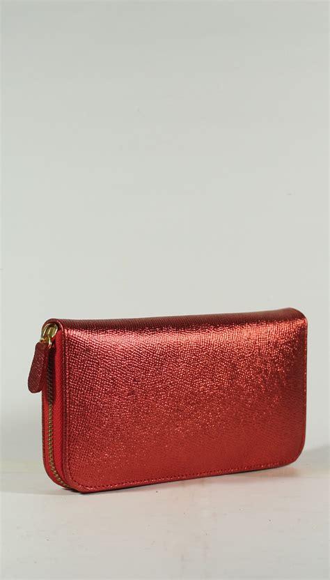 B88333 Tas Merah Tas Warna Merah Bag tas kulit aslidompet wanita kulit sapi warna merah single resletin memuat banyak kartu whatsapp
