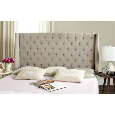 overstock headboard overstock headboard rolled top tufted king headboard by