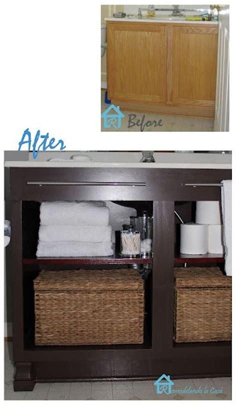 Redo Bathroom Cabinets - best 25 vanity redo ideas on refurbished