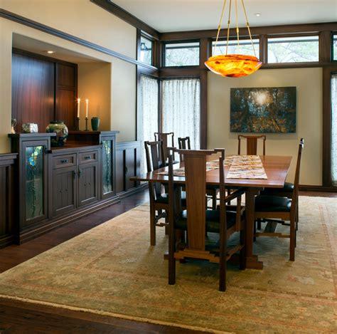 ultimate bungalow craftsman dining room  tyner