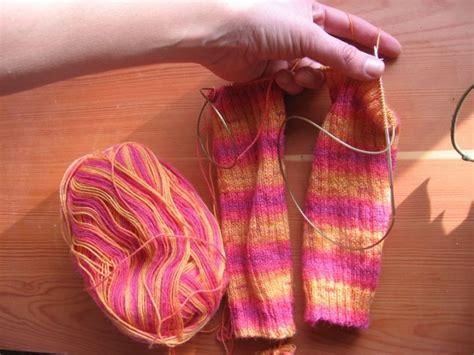 knit 2 socks on 1 circular needle two socks on one circular needle knitting