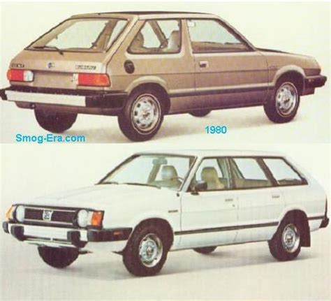subaru station wagon 1980 station wagons smog era com 73 83 retrorides