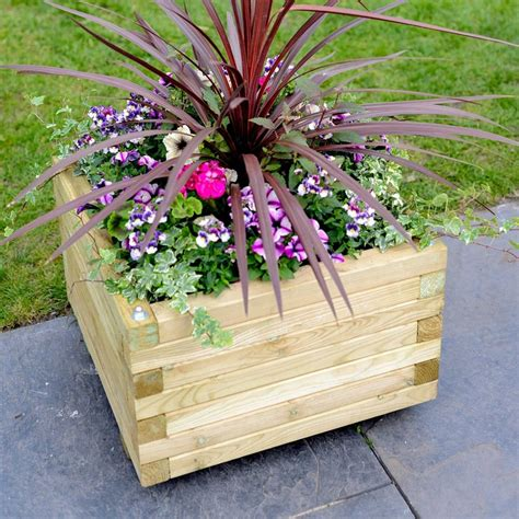 Square Outdoor Planters Large by Grange Elite Square Large Planter Garden