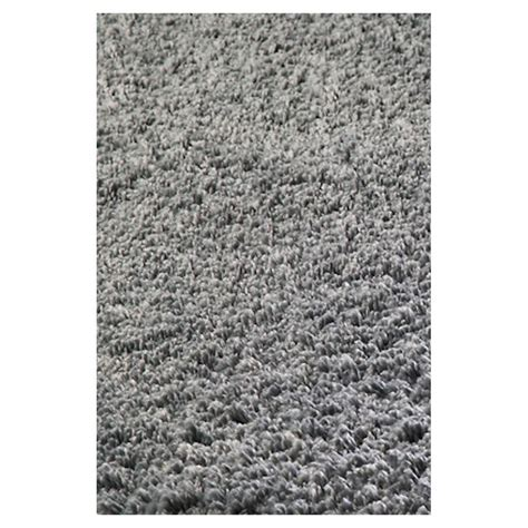 shag throw rug shop kas rugs sofia shag grey rectangular indoor shag throw rug common 3 x 5 actual 39 in w