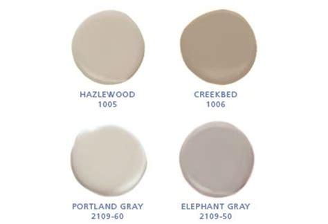 benjamin hazlewood 1005 creekbed 1006 portland gray 2109 60 elephant gray 2109 50