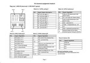 mercedes car radio stereo audio wiring diagram autoradio connector wire installation schematic