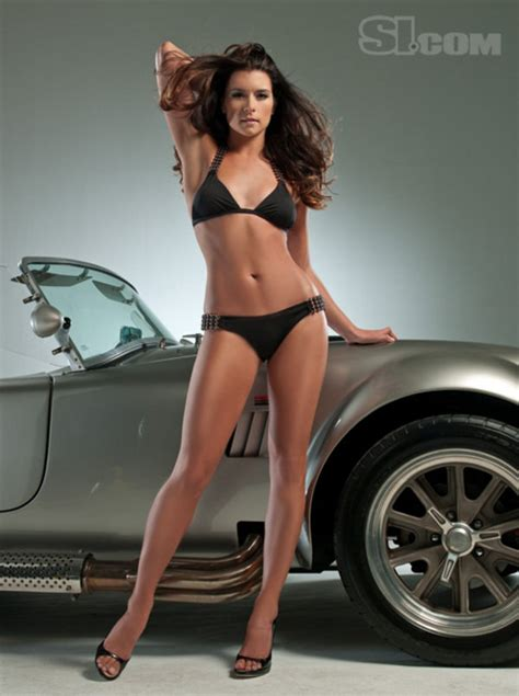 danica patrick  shelby cobra sports illustrated swimsuit picture  car news  top