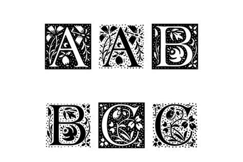 decorative initials font ltc ornamental initials desktop font webfont