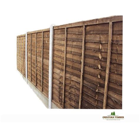 Heavy Duty Trellis Fence Panels fence panel heavy duty lapped chiltern timber