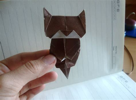 Neko Cat Origami - origami neko bookmark designed by jo nakashima 1 by