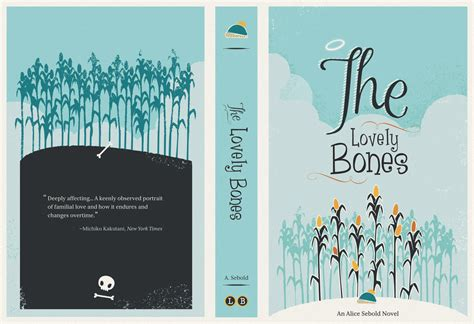is lovelier books the lovely bones book cover by melito on deviantart