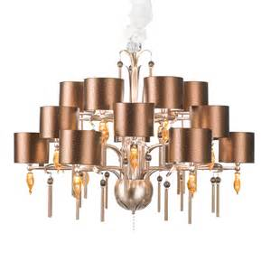 Floor Lamps Amazon by Large Copper Swarovski Crystal Chandelier