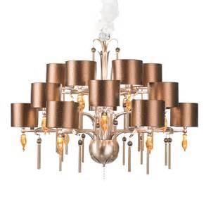 large copper swarovski crystal chandelier