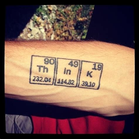 chemistry tattoos cool tats the