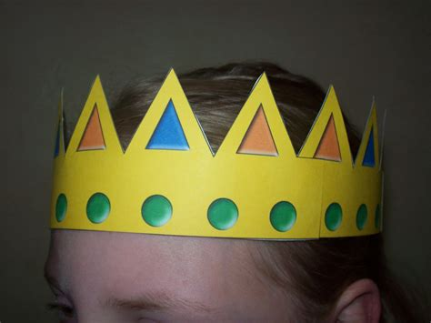 Paper Crown Craft - 8 best images of free printable crown craft free