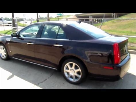 2009 Cadillac Sts by 2009 Cadillac Sts Black Cherry For Sale
