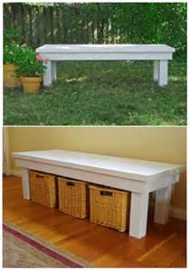 Front Entryway Bench Diy Bench Tutorial Be Great By The Front Door For Shoes