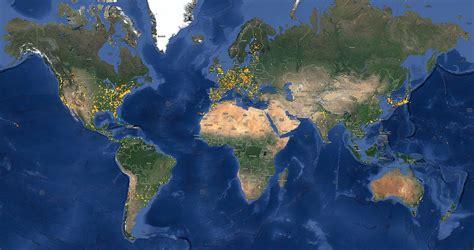 globe maps globe at 2013 numbers