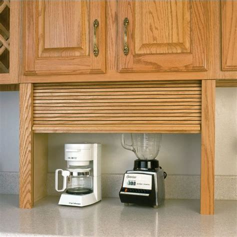 Kitchen Cabinets Appliance Garage Kitchen Garage Smalltowndjs