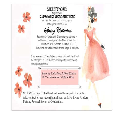 Church Invite Cards Sle
