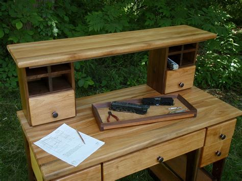 hobby work bench hand made hobby work bench desk table by custom furniture creations custommade com