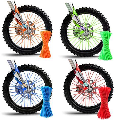 Skrup 6 125 Inch motorcycle dirt bike enduro road wheel spoke skins