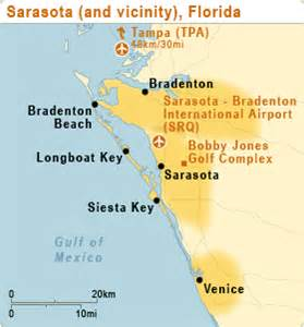 map sarasota florida usa location and map of inn sarasota airport sarasota hotels fl united states of america