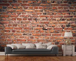 Union Jack Wall Mural brick wallpaper amp brick effect wall murals wallsauce