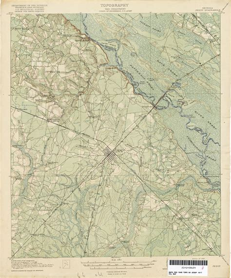 jesup map historical topographic maps perry casta 241 eda map