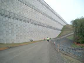 large wall seattle djc com local business news and data construction giant walls hold back a lot of dirt