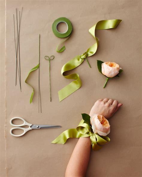 Handmade Corsage - wedding corsage ideas martha stewart weddings