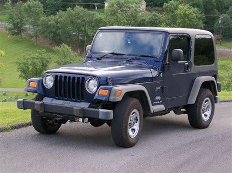 2005 Jeep Wrangler 4 Door Buy Used 2005 Jeep Wrangler Sport Top 4wd 2 Door 4 0l