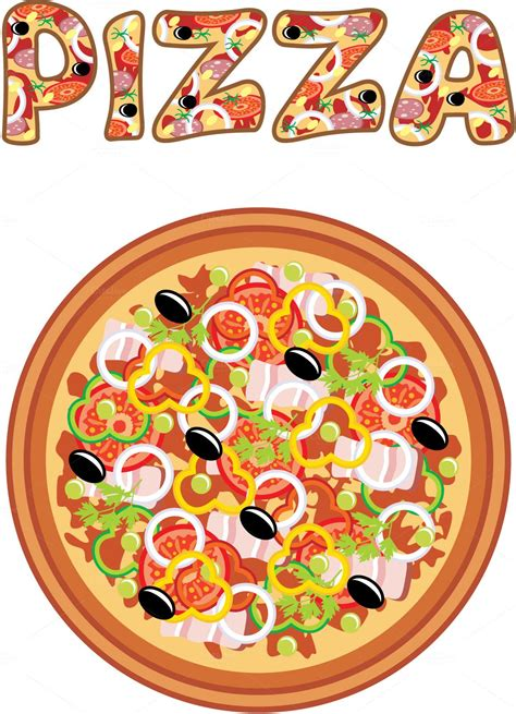 pizza clipart pizza illustrations 4 cafe bar pizzas