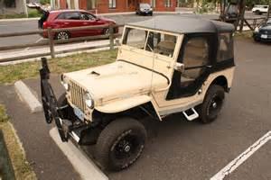 Jeep Cj3a Parked Cars 1953 Willys Cj3a