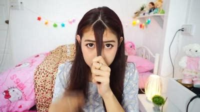 Poni Tipis See Throught Bangs Korean Style cara mudah potong poni quot see through quot ala korea tertarik fashion beautynesia