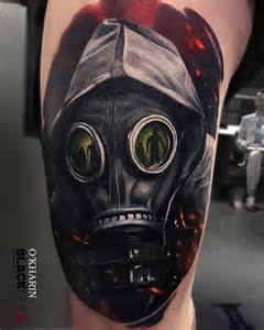 gas mask tattoo best tattoo ideas gallery