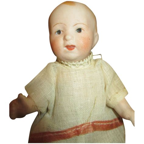 nippon bisque doll bisque nippon baby doll with compo from